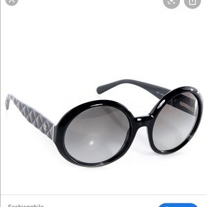 Chanel | Round Gradient Sunglasses
